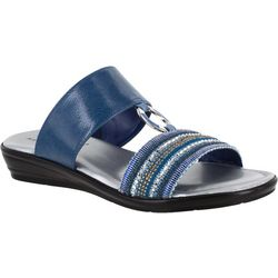 Easy Street Womens Sonnet Slide Sandals