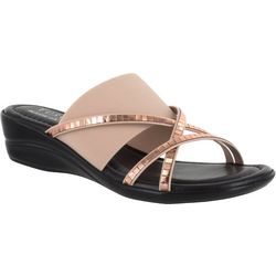 Easy Street Womens Addilyn Slide Sandals