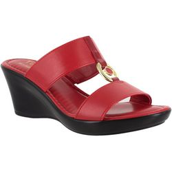 Easy Street Womens Calla Wedge Sandals