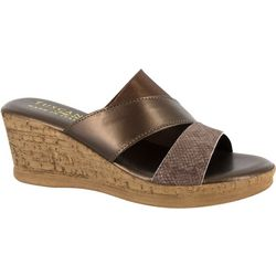 Easy Street Womens Camari Wedge Sandals
