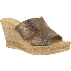 Easy Street Womens Marsala Wedge Sandals
