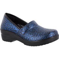Easy Street Womens Laurie Work Clogs