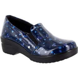 Easy Street Womens Leeza Work Clogs