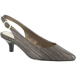 Easy Street Womens Faye Metallic Pumps