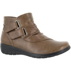 Easy Street Womens Franny Ankle Boots