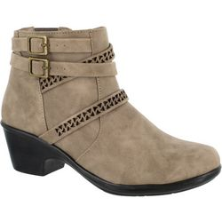 Easy Street Womens Denise Ankle Boots