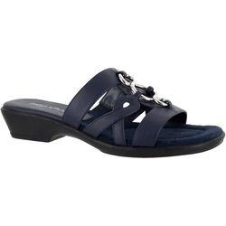 Easy Street Womens Torrid Slide Sandals