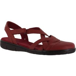 Easy Street Womens Garrett Flat Sandals