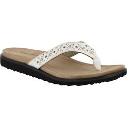 Easy Street Womens Stevie Thong Sandals
