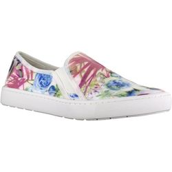 Easy Street Sport Womens Plaza Floral Print Slip On Shoes