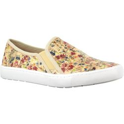 Easy Street Sport Womens Plaza Floral Slip On Shoes