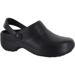 Easy Street Works Womens Time Work Clogs