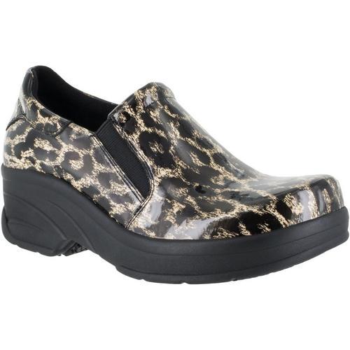59a2ada5ed90 Easy Street Works Womens Reciate Leopard Work Shoes Bealls Florida