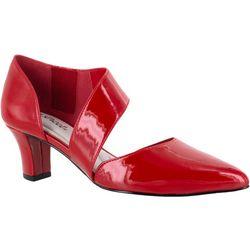 Easy Street Womens Dashing Patent Heels