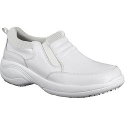 Easy Street Works Womens Magna Slip On Work Shoes