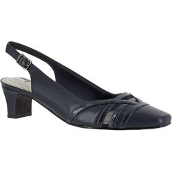 Easy Street Womens Kristen Slingback Pumps