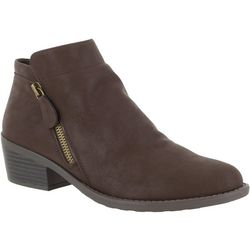 Easy Street Womens Gusto Matte Ankle Boots