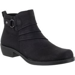Easy Street Womens Shanna Matte Ankle Boots