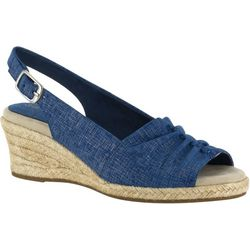 Easy Street Womens Kindly Espadrille Wedge