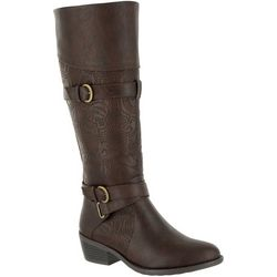 Easy Street Womens Kelsa Plus Tall Wide Calf Boots