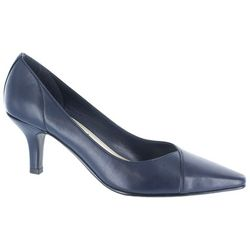 Easy Street Womens Chiffon Pointed-Toe Pumps