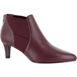 Easy Street Womens Saint Ankle Booties