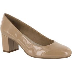 Easy Street Womens Proper Patent Pumps