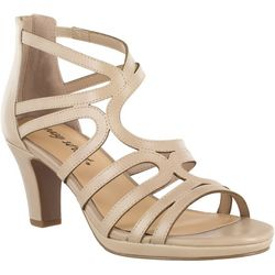 Easy Street Womens Elated Platform Sandals
