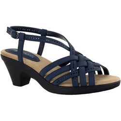 Easy Street Womens Jackson Slingback Sandals