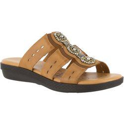 Easy Street Womens Nori Slide Sandals