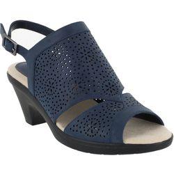 Easy Street Womens Linda Slingback Sandals