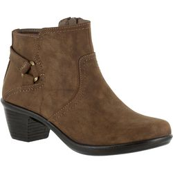 Easy Street Womens Dawnta Sueded Bootie