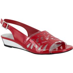 Easy Street Womens Celebrate Slingback Sandals