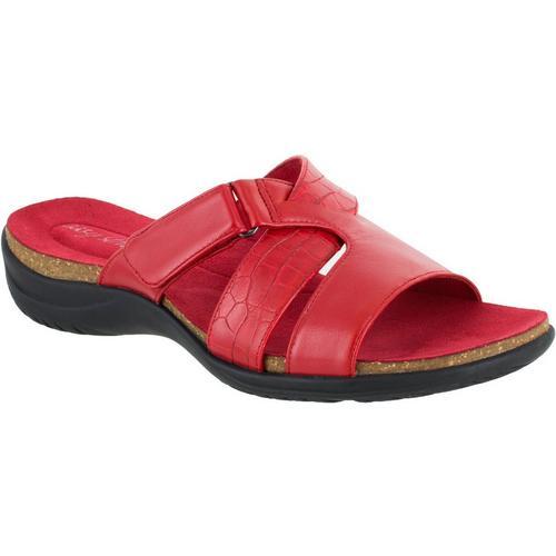 b3435baa879 Easy Street Womens Frenzy Casual Sandals
