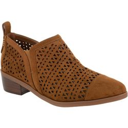 Bella Vita Womens Ashlyn II Fabric Booties