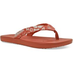 Soft Science Womens Waterfall Palm Flip Flops