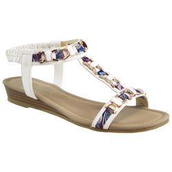 Beacon Womens Roxy Jeweled Sandals