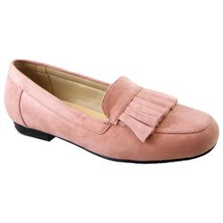 Beacon Womens Megan Ruffled Loafers