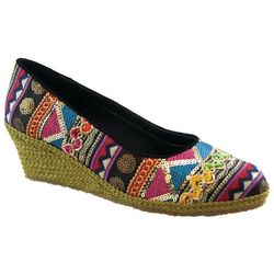 Womens Exotic Espadrille Shoes