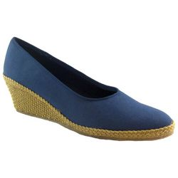 Beacon Womens Newport Wedge Espadrille Shoes
