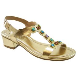 Beacon Womens Treasure Jeweled Sandals