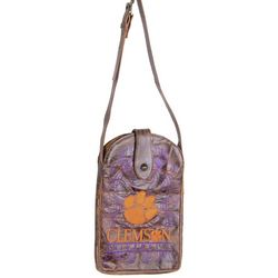 Gameday Boots Clemson Tigers Crossbody Handbag