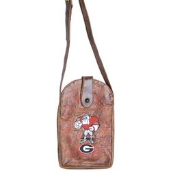 Gameday Boots Georgia Bulldogs Crossbody Handbag