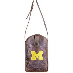 Gameday Boots MI Wolverines Crossbody Handbag