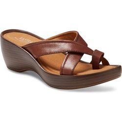 Eastland Womens Willow Wedge Sandals
