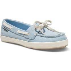 Eastland Womens Skip Striped Boat Shoes