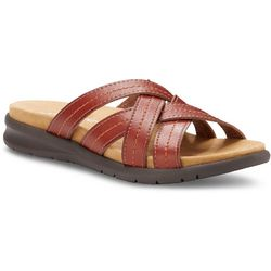 Eastland Womens Cheyenne Slip-On Sandals