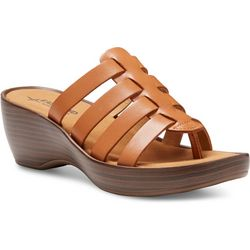 Eastland Womens Topaz Wedge Sandals
