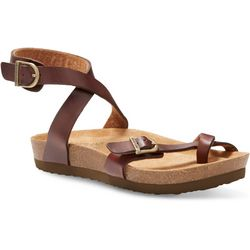 Eastland Womens Squam Ankle Strap Sandals