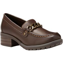 Eastland Womens Nora Chain Loafers